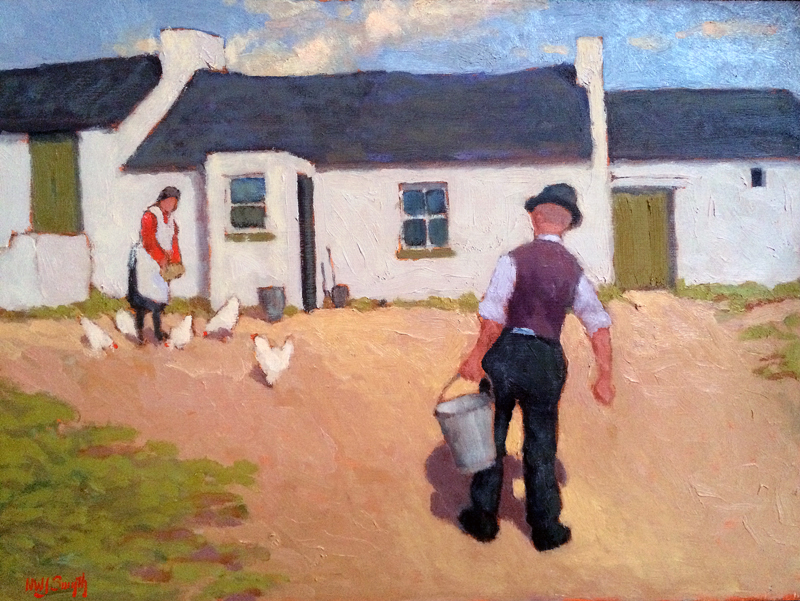 Norman J Smyth The Farmyard