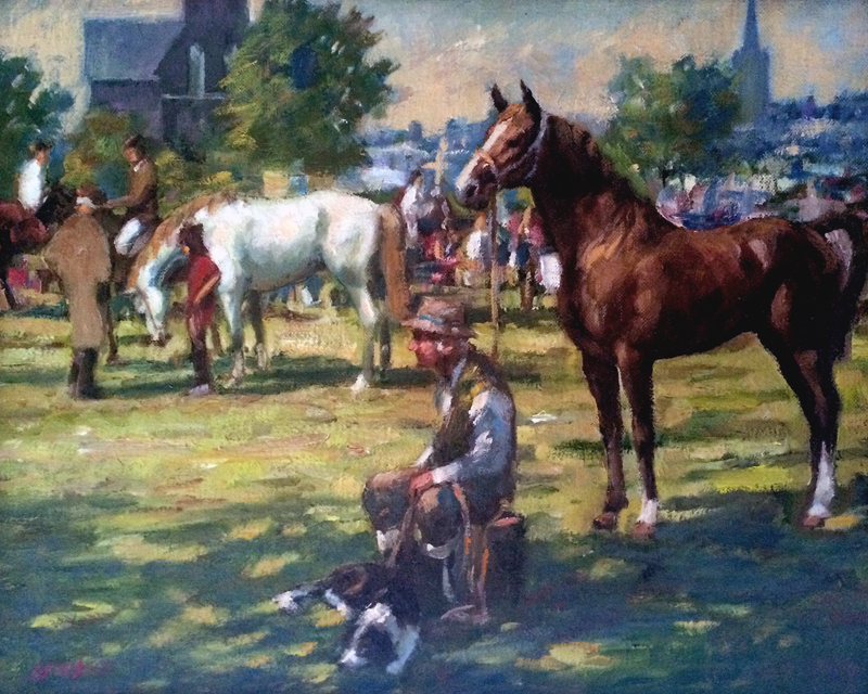 Roy Lyndsay The horse fair
