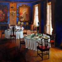 Dining with the ancestors, Bantry House