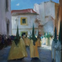 Penitents, Holy week, Malaga