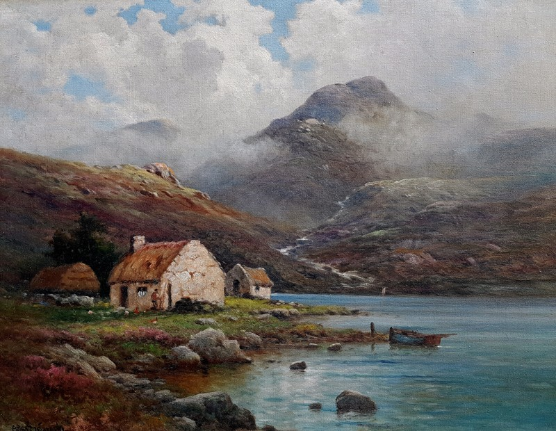 Alfred-Fontville-de-Breanski-Jr-Fishermans-House-Donegal-60x75-4750