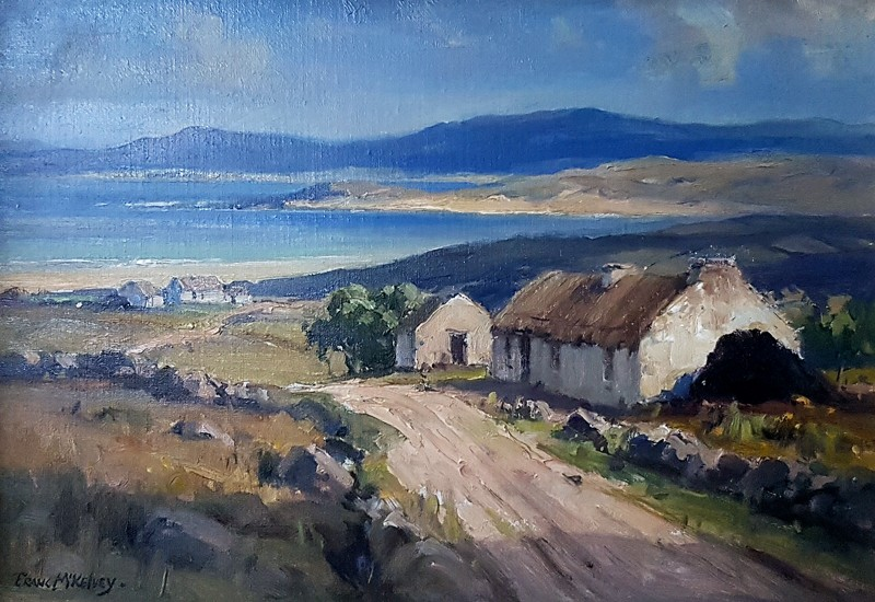 Frank-Mc-Kelvey-Donegal-Cottages-40x30-KAGP349-16000
